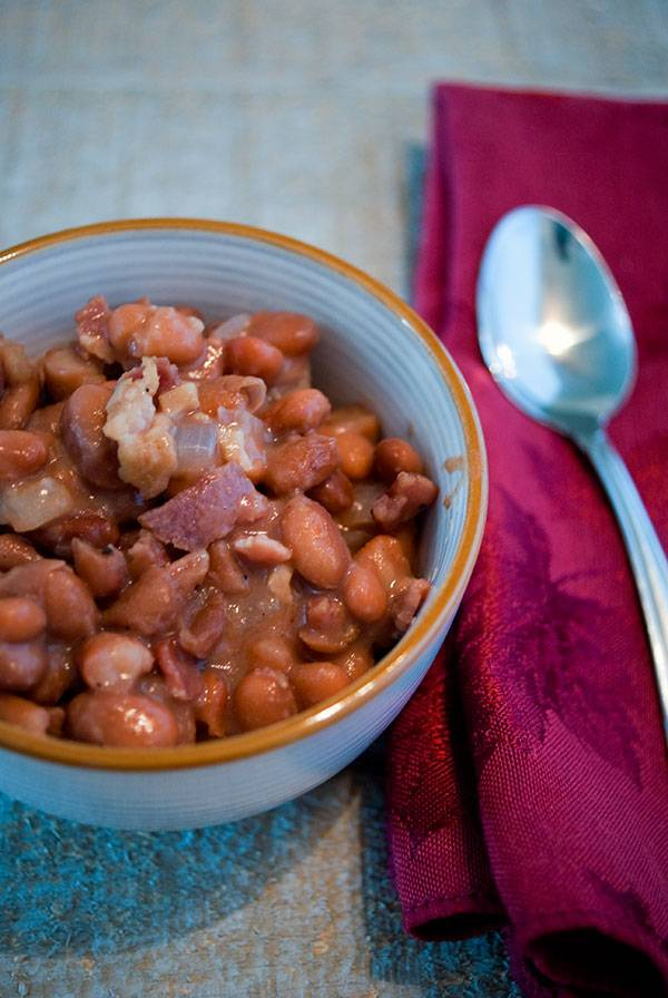 Southern Style Beans & Bacon Recipe