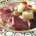 Corned Beef & Potatoes. Perfect for St. Paddy's day, or any other day of the year.