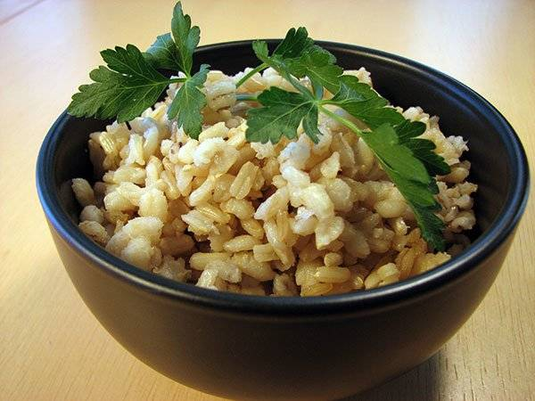 Brown Rice and Barley Recipe