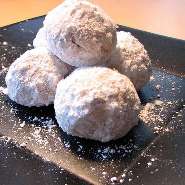 Thelma's Tea Cookies (Mexican Wedding Cake) Recipe