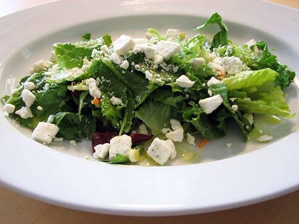 Spring Greens and Feta Salad Recipe