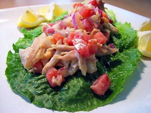 Healthy Chicken Salad with Curried Yogurt Dressing