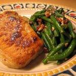 Your Pantry or Mine No. 1 – Part One – Marinated Pork Chops with Pecan Green Beans Recipe