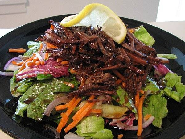 Barbecued Asian Beef Salad Recipe