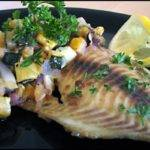 Baked Tilapia with Zucchini and Yellow Squash Recipe