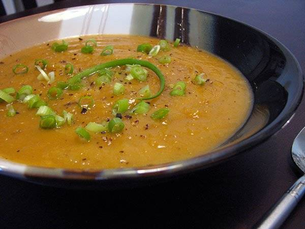 Roasted Acorn Squash Soup – Sinfully delicious, without the guilt