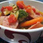 Spicy Kielbasa and Vegetable Soup recipe