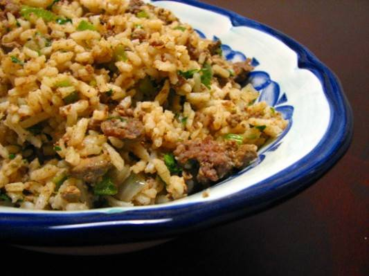 Low Country Comfort, Dirty Rice Recipe