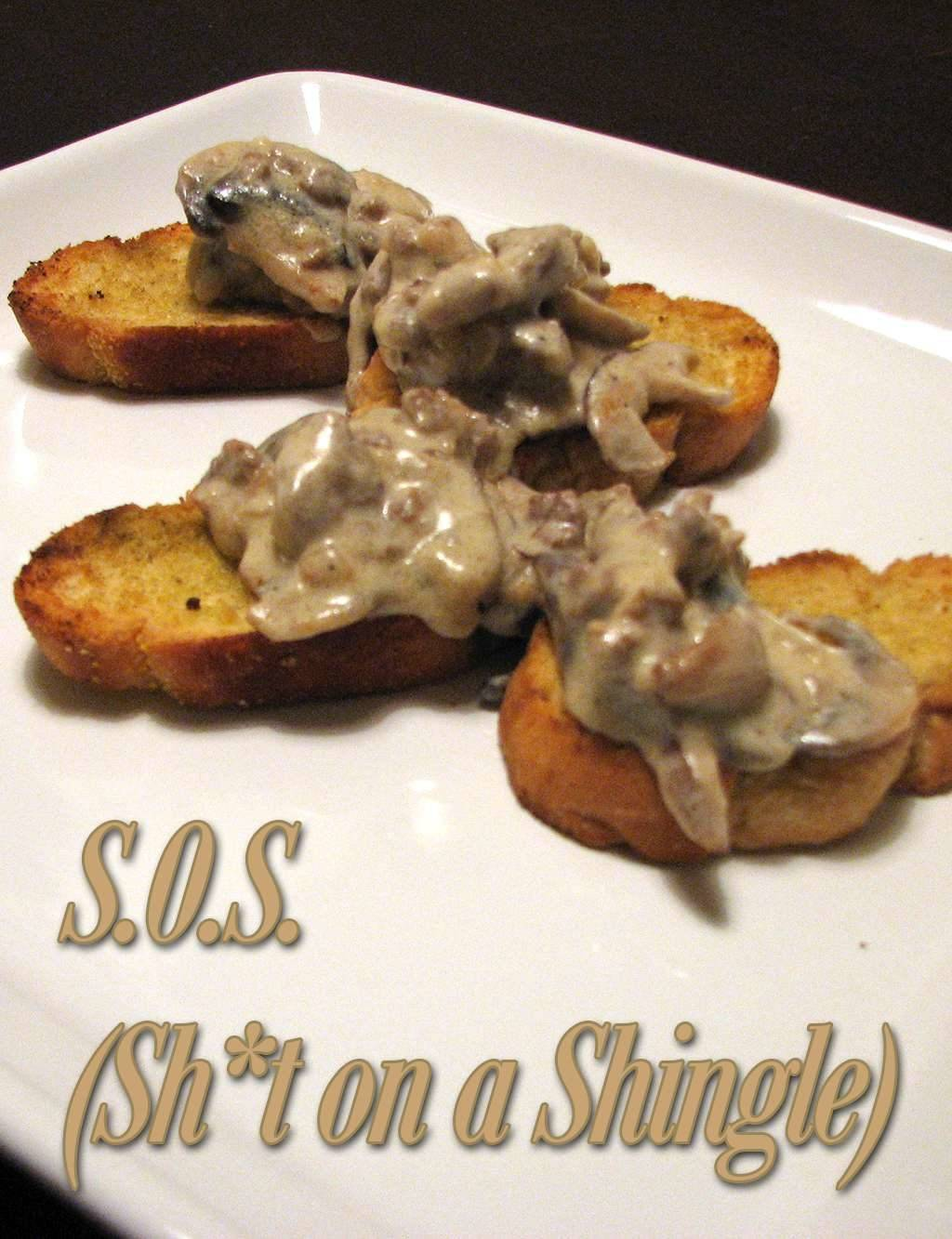 S.O.S. (Shit on a Shingle) Recipe Makeover - A Comfort Food Classic Remade