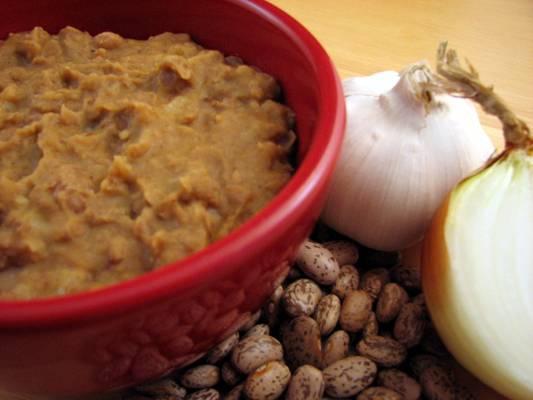 Refried Beans (Frijoles Refritos) Recipe