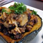 Roasted Stuffed Acorn Squash Recipe, a Sage Sensation