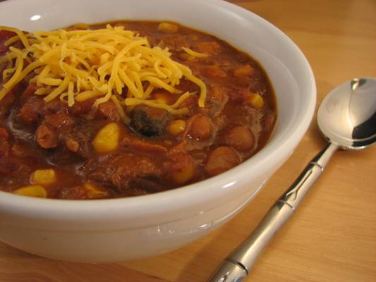 Beef and Butternut Squash Chili with Beans Recipe (a.k.a Jerry's Texoma Chili Recipe)