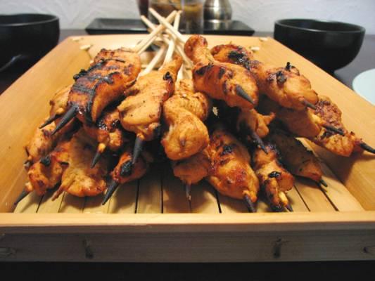 Chicken Satay – Goodness on a stick