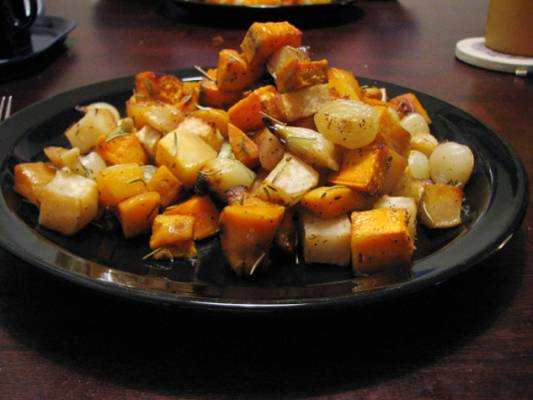 A farewell to winter – Roasted Root Vegetables Recipe