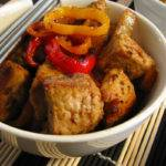 Curried Pork with Sweet Peppers Recipe