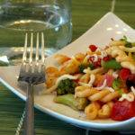 Pasta with Ham Broccoli and Fire Roasted Tomatoes Recipe