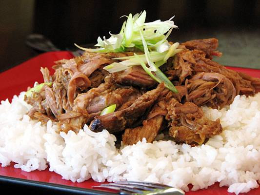 Kalua pork, a simple oven recipe
