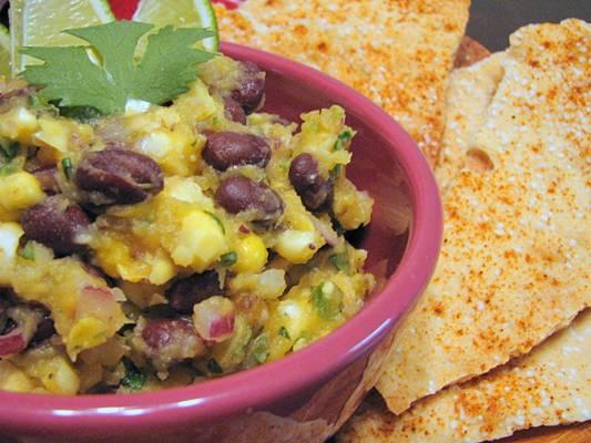 "Lavash Crackers & ""Three Sisters"" Salsa Recipe"