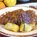 Braised Pork Roast with Parsleyed Potatoes Recipe