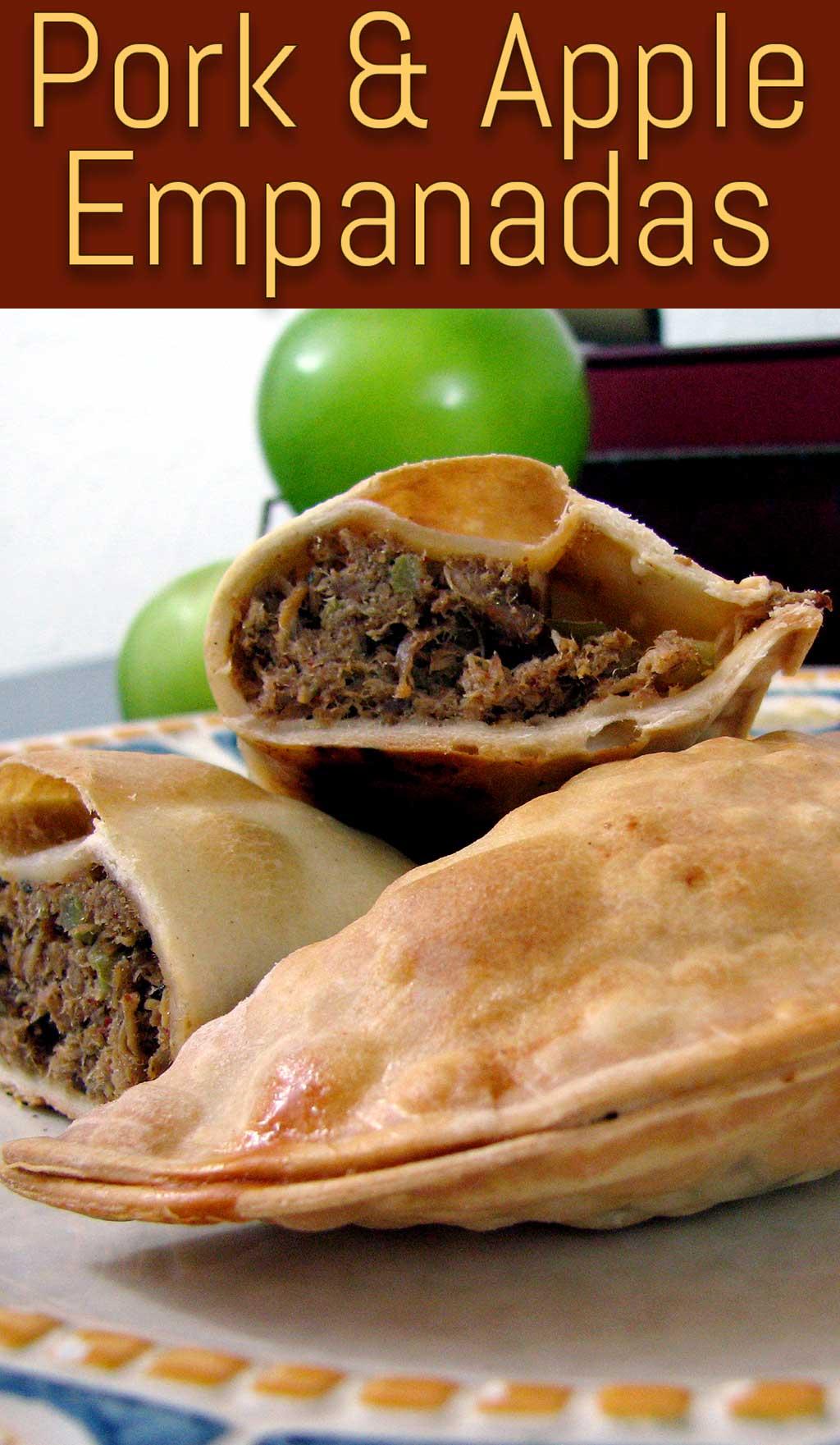 Pork & Apple Empanadas, A twist on a classic empanada recipe