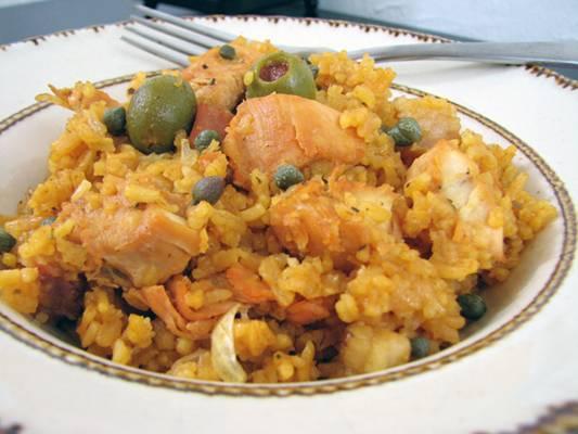 Caribbean chicken and rice arroz con pollo recipe forumfinder Gallery