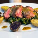 Pan Seared Petit Fillet Steak with Mustard Sauce Recipe