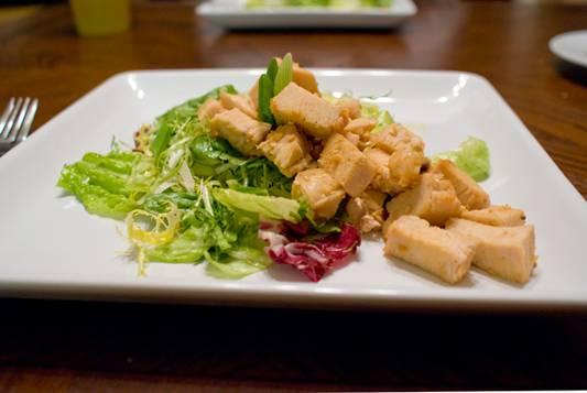 Sesame-Orange Chicken Salad Recipe