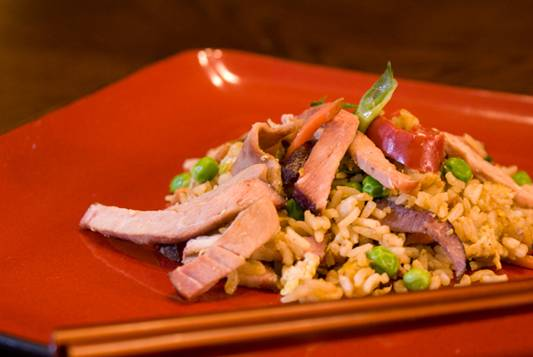 Smoked Pork Fried Rice Recipe