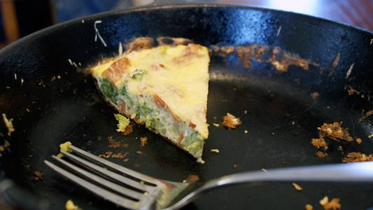 Broccoli Bacon Frittata Recipe