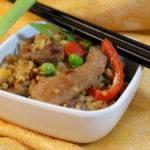 Marinated Pork Fried Rice Recipe