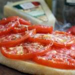 Tomato Ciabatta Tart
