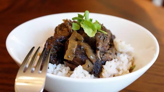 Port Wine Braised Beef Shank Recipe