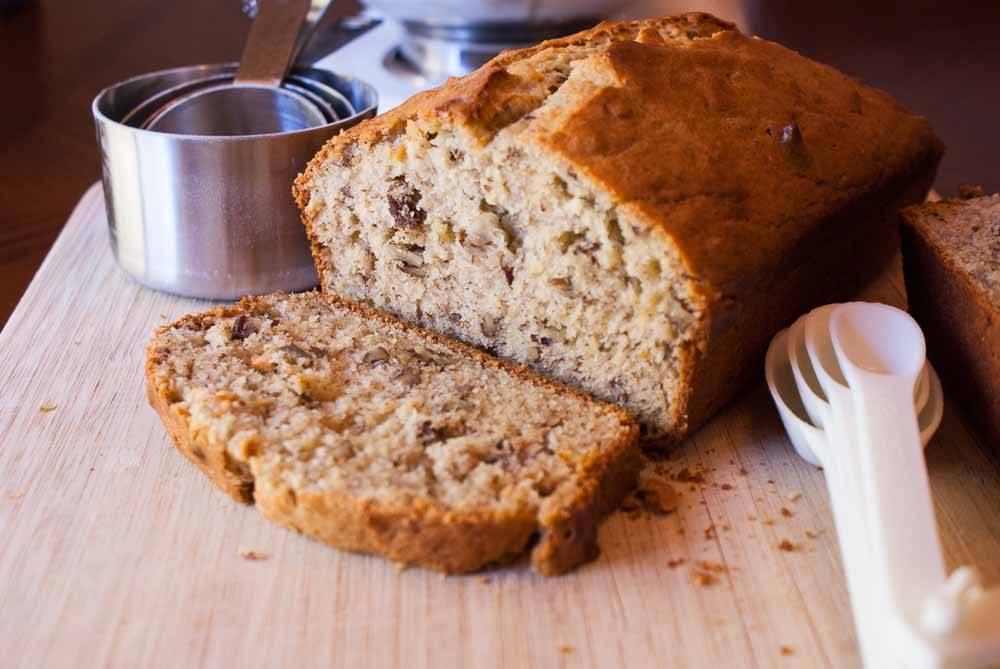 Erik's Banana Bread Recipe. The ultimate banana nut bread