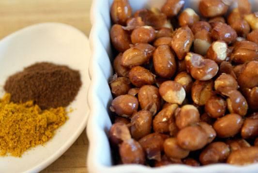 Curried Salt-Roasted Peanuts