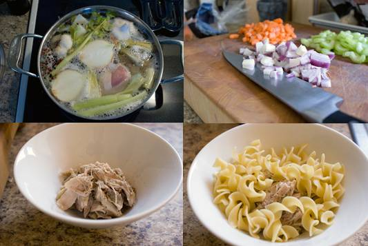 chicken noodle soup: the making of