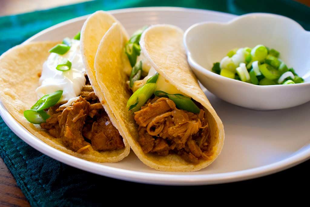 Leftover Turkey Tacos
