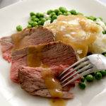 Roast Leg of Lamb with Pan Gravy