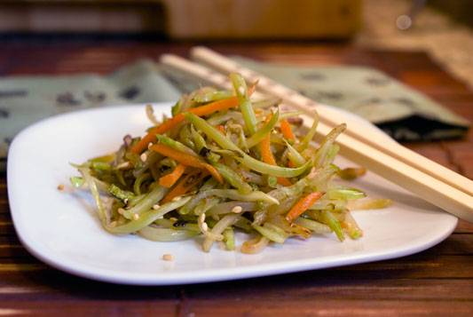 Stir-fried-broccoli-slaw-1