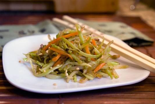Stir-fried-broccoli-slaw-1