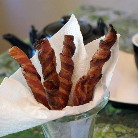 Bacon Straws