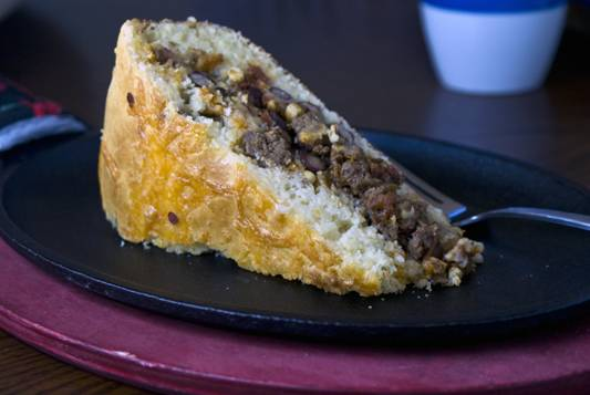 Stuffed-cornbread