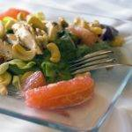 Chicken Salad with Citrus and Cashews