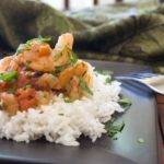 Sauteed Shrimp with Tomatoes (Domatesli Karides Sote)
