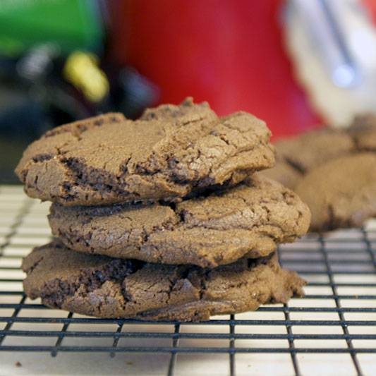Chocolate Cake Mix Cookies. Unbelievably simple. Outrageously delicious