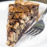 Bourbon-Chocolate Walnut Pie