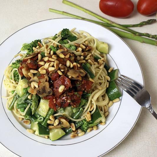 Pasta Primavera (Spaghetti Primavera), An Italian-American Classic
