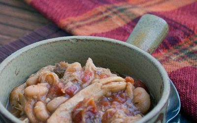 Slow Cooker Chicken and Bean Soup