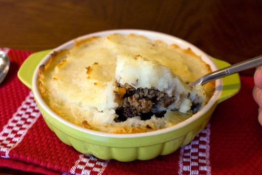 Cottage Pie Or Shepherd's Pie. Whaever you call it, it's wonderfully comforting.