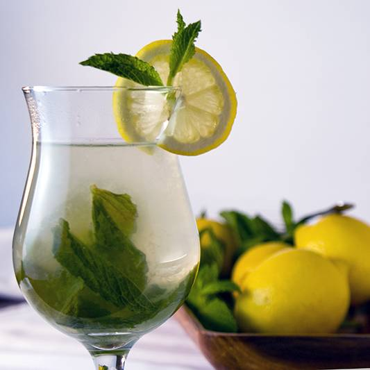 Lemon Mint Tea (Nane Limon), a Turkish delight