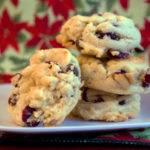Cranberry Orange Chocolate Chip Cookies